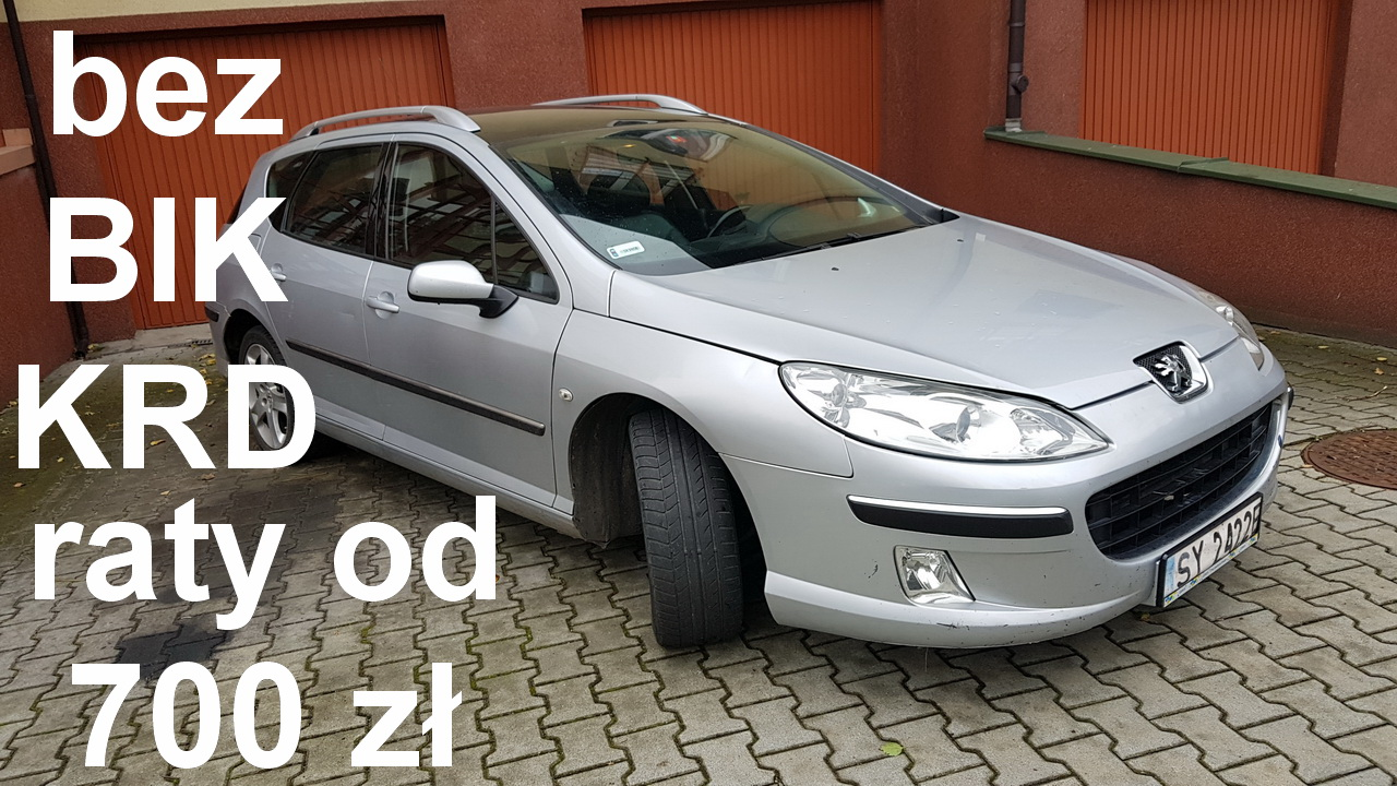 W superbly Peugeot 407 SW | FastCars na raty PQ59